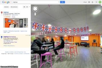 Visite virtuelle Google pour ecole