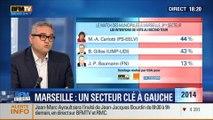 BFM Story: Municipales à Marseille: Marie-Arlette Carlotti, candidate PS, est en tête au second tour dans les IVème et Vème arrondissements selon un sondage CSA - 05/03