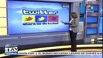 Desde twitter Hugo Chávez también hizo la revolución bolivariana