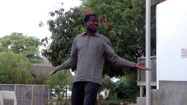 Adama Adépoju (dit Taxi Conteur) - Conteur d'origine ivoirienne - Afrique du Sud Avril 2013