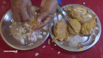 Vankaya Bajji - Brinjal Bajji Preparation in Telugu