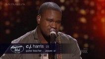 CJ Harris - Waiting On The World To Change - American Idol 13 (Top 12)