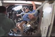 Final Spacewalk Adds Robotic Work Station to Cupola