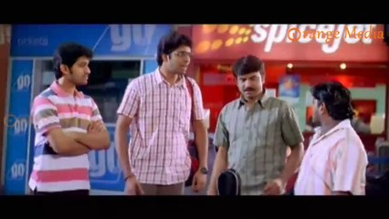 Allari Naresh And His Friends Waiting At Airport For His Uncle  From Roommates Movie