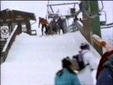 Regis fait du ski mdr
