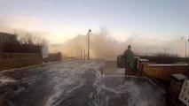 Un vidéaste de fait surprendre par les vagues à Saint-Malo
