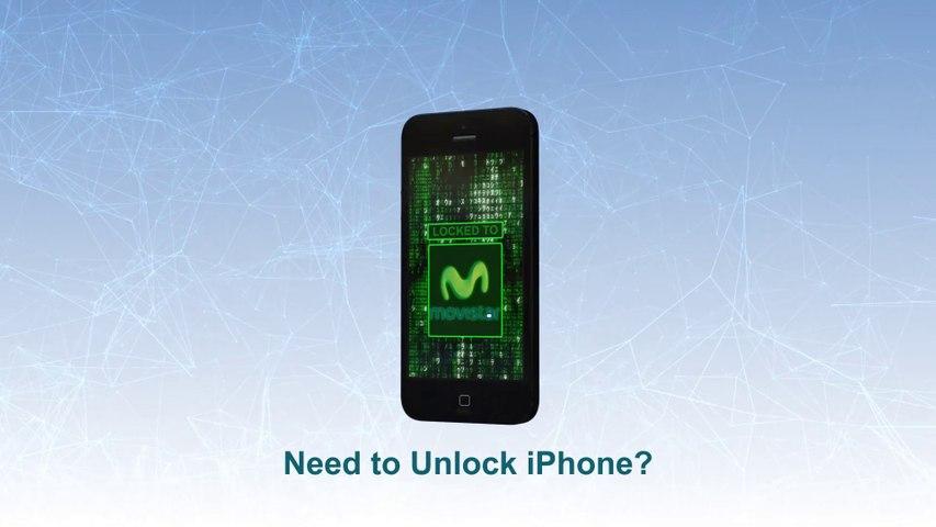 Movistar Unlock iPhone 5S   5C   5  4S   4   3GS  -  Video