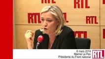 """VIDÉO - Affaire Buisson : """"L'intérêt de la France est de remettre la main sur ces cassettes"""" selon Marine Le Pen"""