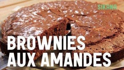 Brownies aux amandes - Recette simple et excellente