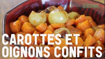 Recette de carottes et oignons confits facile