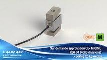 SL – Capteurs de pesage à traction et à compression – LAUMAS