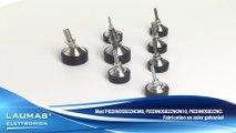 PIEDINOSB2 - Accessoires pour capteurs de pesage -  Pieds articulé réglables à centrage automatique à bille – LAUMAS