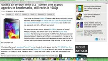 Samsung Galaxy S5 5.2  Display Exynos Variant 2014 Coming !
