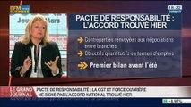 Thierry Lepaon, secrétaire général de la Confédération Générale du Travail, dans Le Grand Journal - 06/03 2/4