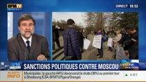 BFM Story: Ukraine: l'Union Européenne a pris des sanctions politiques contre la Russie - 06/03