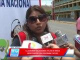 Chiclayo: Clausura de vacaciones utiles Programa Yachay 05 03 14