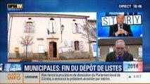 BFM Story: Fin du dépôt des candidatures pour les élections municipales de 2014: aucun candidat ne s'est manifesté dans certaines communes - 06/03