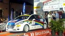 """Paolo Andreucci """"a sbrega balon"""" - palco arrivo 49° Rally del Friuli Venezia Giulia"""