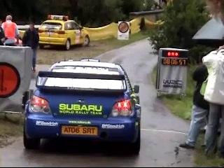 Cris Atkinson Subaru Impreza WRC - Partenza shakedown