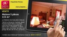A vendre - maison - LE PERRAY EN YVELINES (78610) - 5 pièces - 115m²
