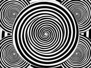 Hypnotic Spirals. Classic Hypnotic.