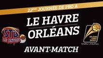 Avant-Match - J22 - Orléans se déplace au Havre