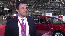 Geneva Auto Show 2014 - Interview with Jochen Rudat, Tesla
