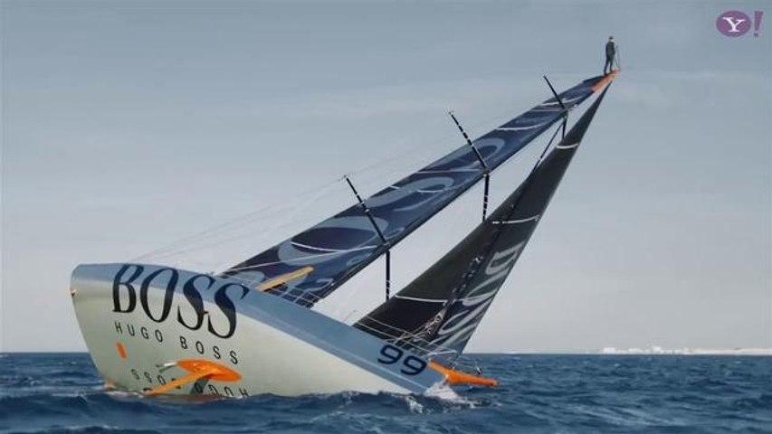 Best Of The Week #49: Alex Thomson, Hugo Boss, Sailing, Windsurf, Ski, Parkour, Kiteboard, Snow, Longboard, Wake