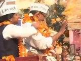 Aam Aadmi Party:Jhadu Chalao Yatra Day 4