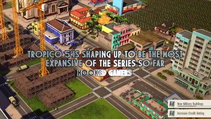 Première vidéo de gameplay de Tropico 5