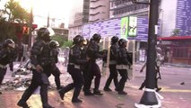 Venezuelan anti-government protesters clash with police