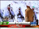 Pakistan Army Jawaans playing cricket in Siachen Glacier & parying for Pakistan Cricket Team Success