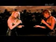 Whitney Houston Mariah carey When You Be