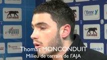 Thomas Monconduit : le vestiaire à fond avec le coach Bernard Casoni