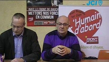 """Michel TORTEY et Laurent CASTANIER - """"Pour Bagnols sur Cèze, l'Humain d'abord"""""""