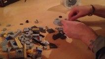 La pire blague du monde : démonter le vaisseau Star Wars LEGO de son pote!