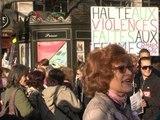 Droits des femmes: des milliers de personnes dans les rues de Paris - 08/03