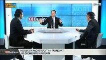L'actualité IT de la semaine: Frédéric Charles et Pascal Samama, dans 01Business - 08/03 3/4