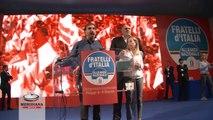 Giorgia Meloni acclamata a Fiuggi Presidente Nazionale di Fratelli d'Italia