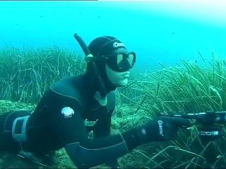 Chasse sous-marine par petits fonds