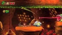 Donkey Kong Country: TF. Columpios colmeneros 5-A - Gameplay - 100% puzzles y letras