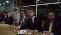Mustafa Sarıgül Kadri Tarikatı şeyhi Abdul Hafız Aydın ve Kadri Tarikatının kanaat önderleri ile toplantıda - 5