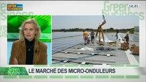 Le marché des micro-onduleurs: Patricia Laurent et Olivier Jacques, dans Green Business - 09/03 3/4