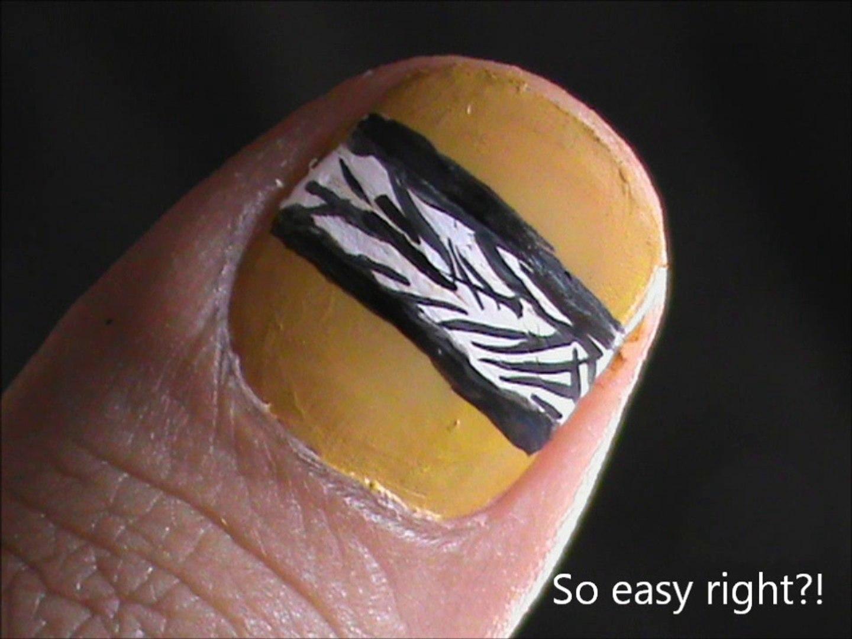 Really Short Nails Nail Designs For Short Nails To Do At Home Easy Nail Art For Short Nails Video Dailymotion