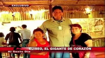 Eliseo: el gigante de corazón y su nueva vida en la gran Lima