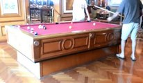 Self Leveling Pool Table On Cruise Ship - Awesome Pool Tables