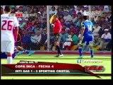 Copa Inca: Sporting Cristal lidera su grupo tras triunfo contra Inti Gas