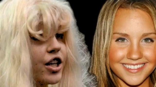 Amanda Bynes Evolution - Amanda Bynes Face Evolution