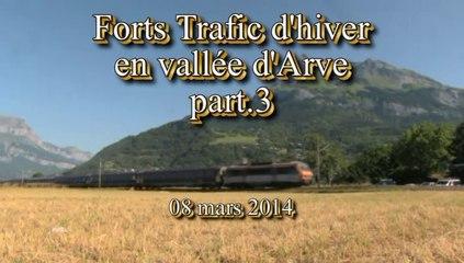 Forts trafic d'hiver 2014 en vallée d'Arve 3