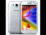 Samsung GT-I9082 Galaxy Grand Duos 8Gb Factory Unlocked under 200 dollars, Android 4.1.2 - White